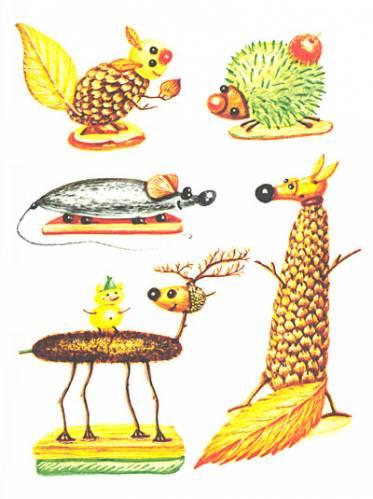 Поделки из корней деревьев - 17 Сентября 2012 - Своими руками, детские, поделки, фото, дача, дом, сад