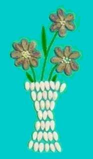 Поделки и аппликации из семян
