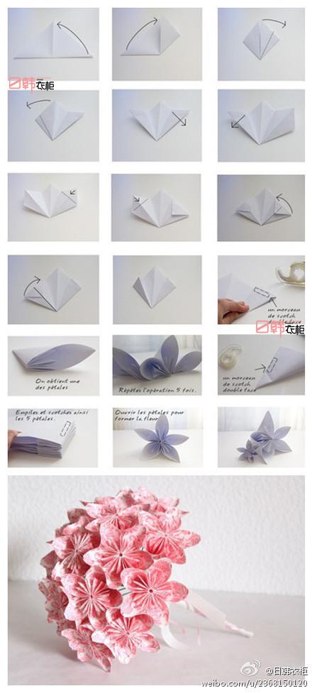 Цветы из бумаги своими руками легко видео